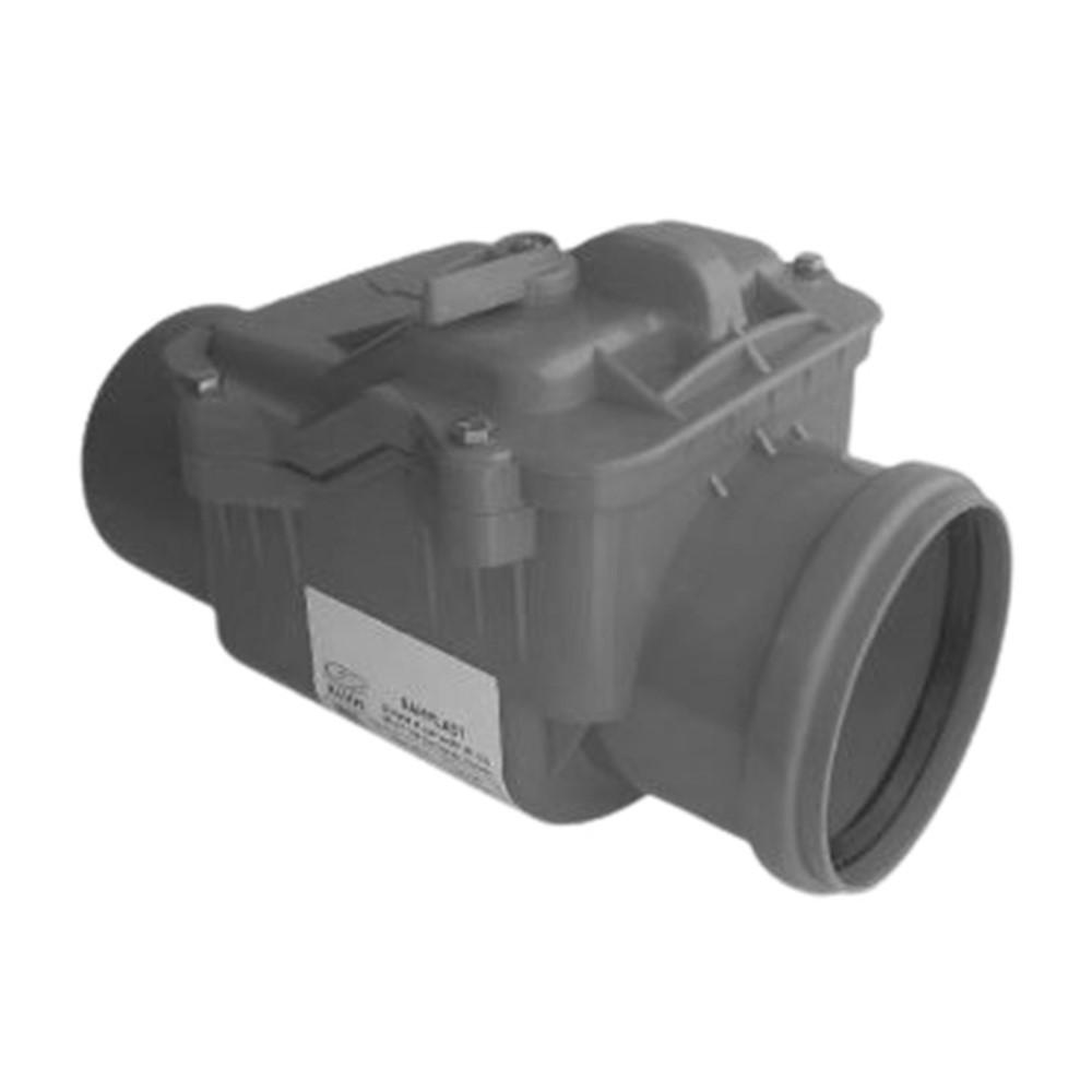 Valvola Antiriflusso Diametro dn50 ad Innesto In Abs e Inox Grigio Bampi - BAMPI SPA BVALV050