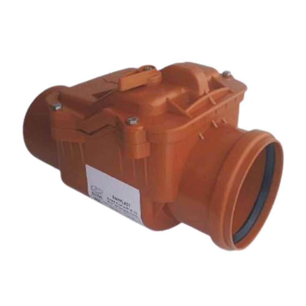 Valvola Antiriflusso Diametro dn160 ad Innesto In Abs e Inox Bampi - BAMPI SPA BVALV160
