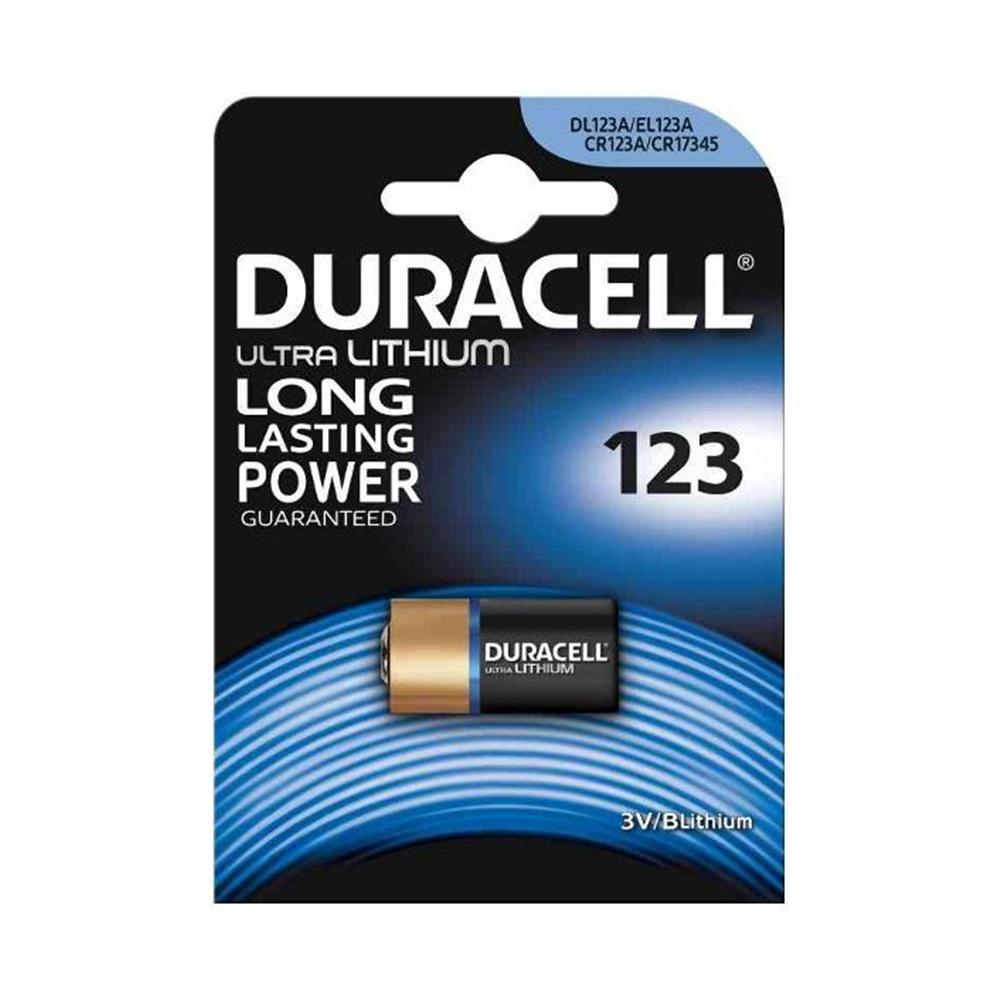 Batteria Pila 123 Litio Blister 1 pezzo - DURACELL DU28