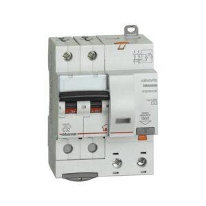 Interruttore magnetotermico differenziale salvavita 2 moduli DIN AC 2P 32A 4,5KA 30MA - BTICINO LEGRAND G8230/32AC