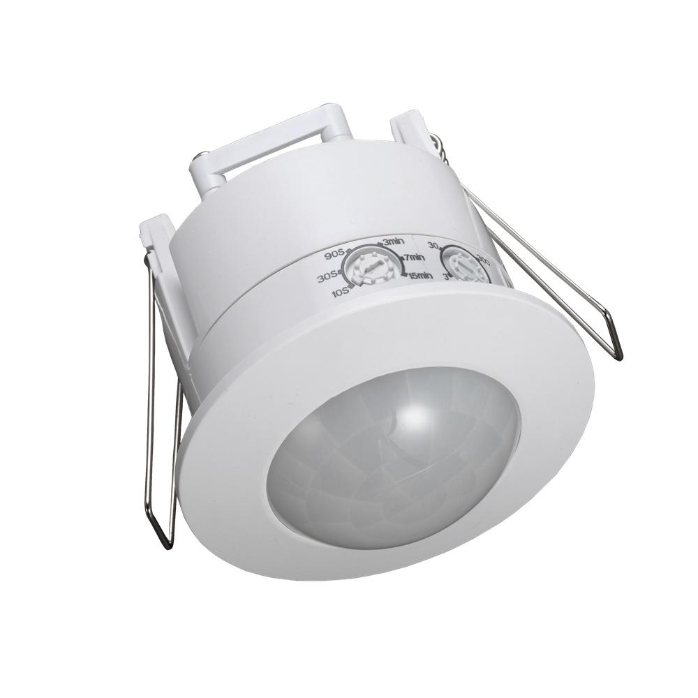 Rilevatore Di Presenza Da Incasso Accessorio LED 360° Max 1200W - CENTURY ITALIA SRL SENS5-36020