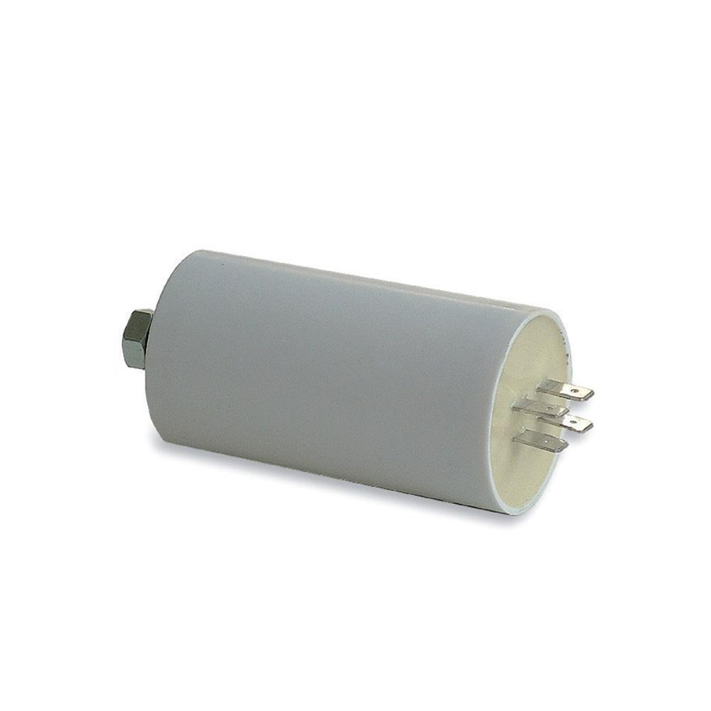 Condensatore per rifasamento 80uF 450V 55x116mm terminale con faston Tecnoswitch - TECNO SWITCH SAS WB800MO