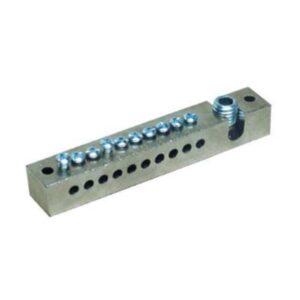 Morsettiera equipotenziale impianti di terra 10 fori - SEM 0310