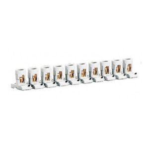 Morsetti a mantello Lista di 10 morsetti separabili 2X25MMQ - LEG 034003