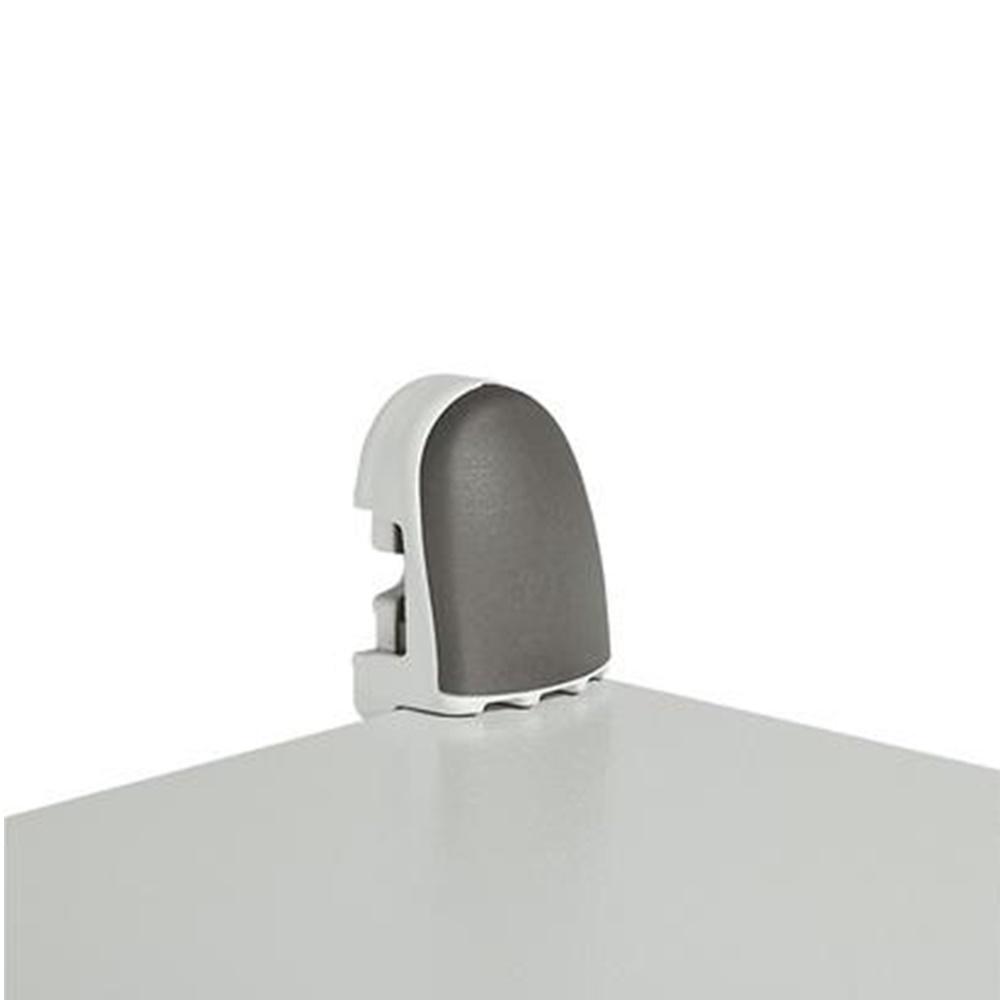 Set di 4 staffe di fissaggio a parete orizzontale o verticale - LEG 036401