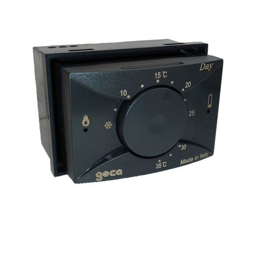 Termostato ambiente da incasso Elettronico Antracite - GECA S.R.L. 35321795