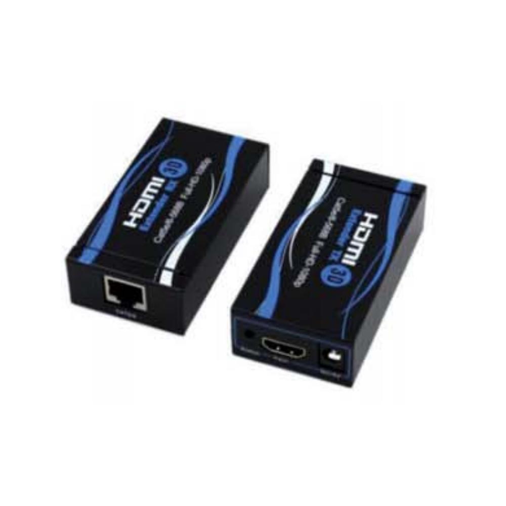 Extender HDMI 60 metri Ripetitore Su Singolo Cavo Cat. 5E/6 Supporta 3D - ELA 421230700