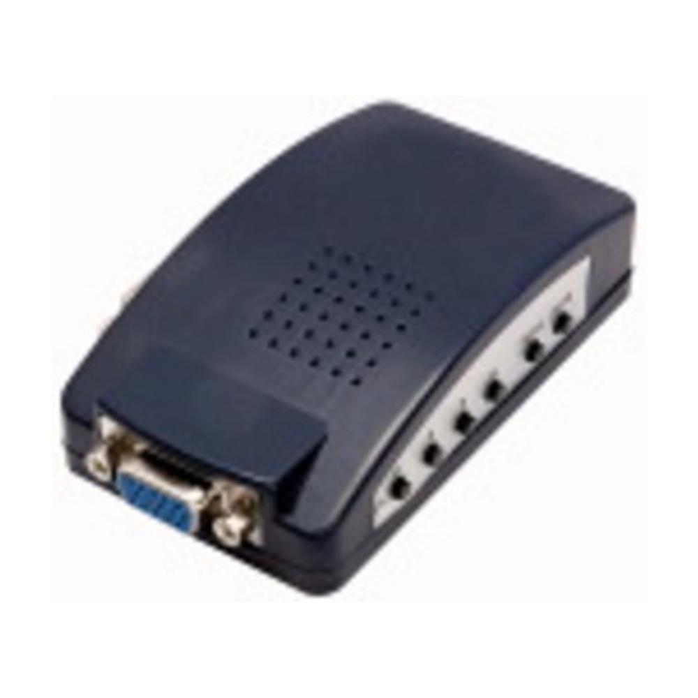 Convertitore Adattatore Video AV Rca S-Video da VGA Per Monitor e Proiettori - ELA 421236400