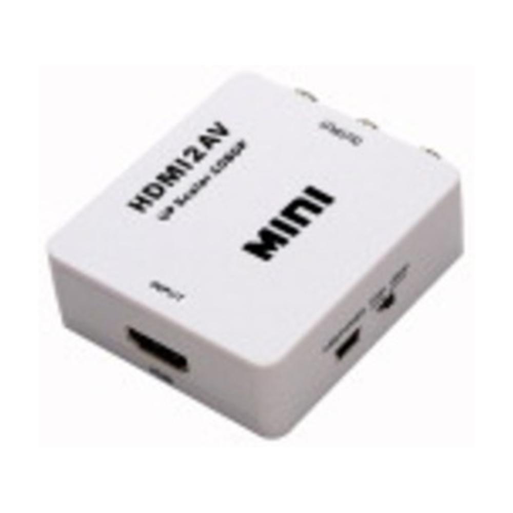 Mini convertitore da segnale HDMI a audio/video AV (CVBS) - ELA 421238400