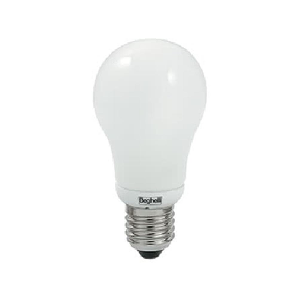 Lampada fluorescente mini goccia 20W E27 2700K Beghelli - COD. BEG50452