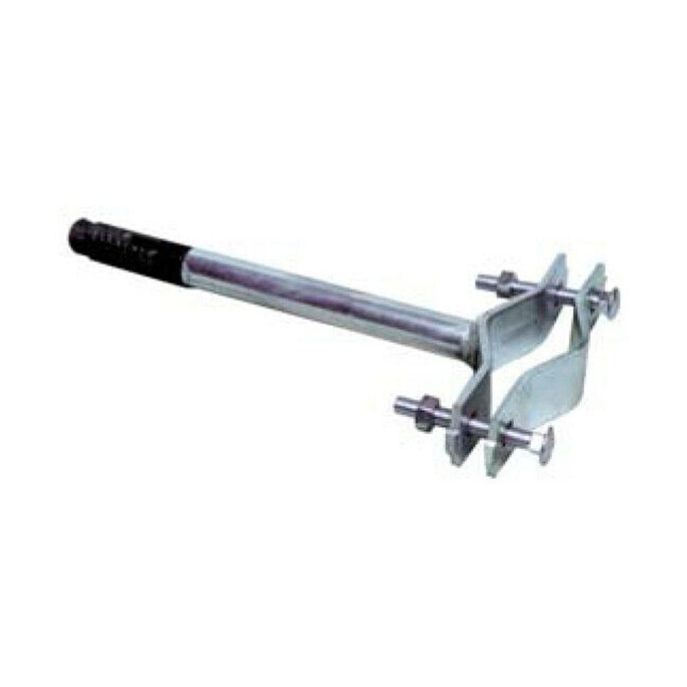 Supporto per palo antenna 25-60mm zanca ad espansione in acciaio zincato - SEM 6106/30P