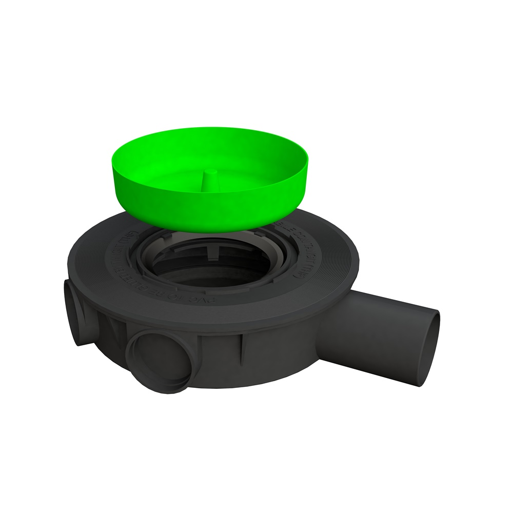 Scarico pavimento ø 50 mm H 57 mm - BONOMINI SRL 6314PV50S2