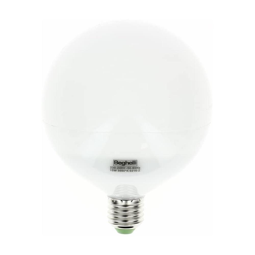 Lampada Led Globo 15W E27 3000K 120x159 mm Beghelli - COD. BEG56082