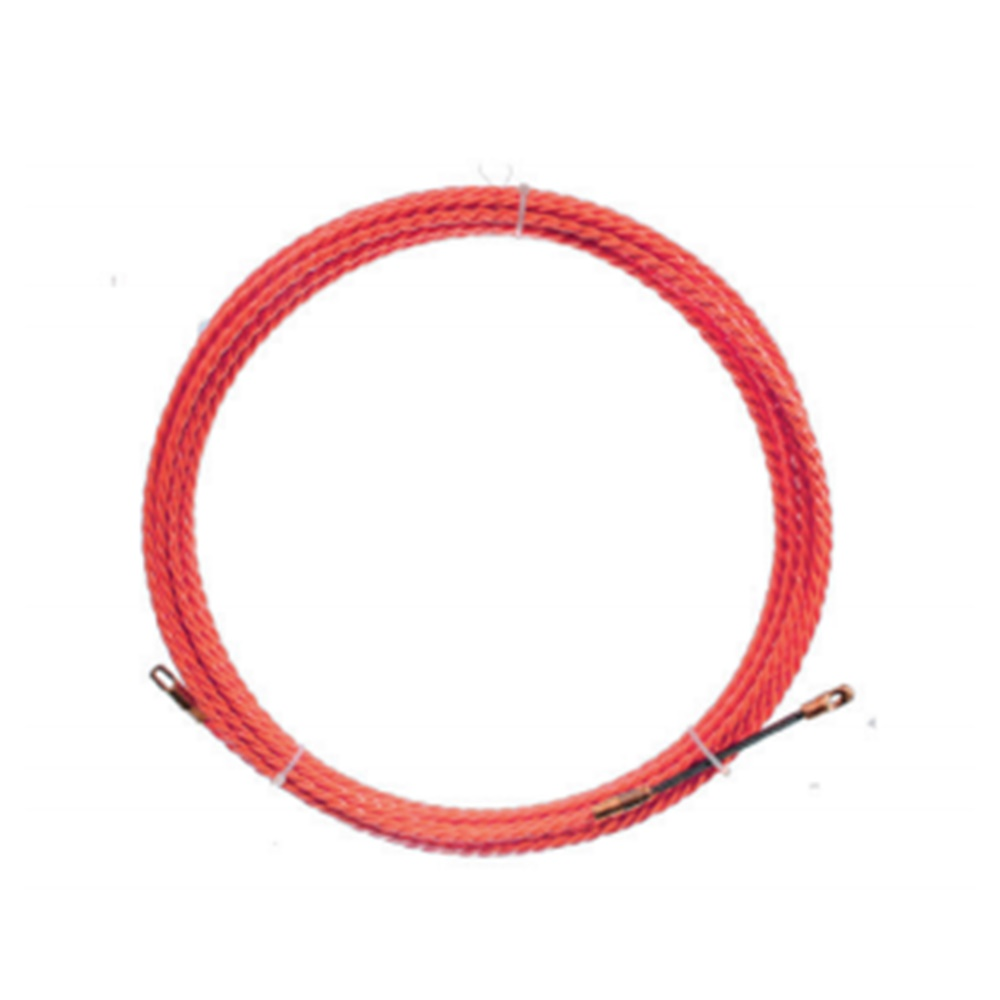 Sonda tira cavi spiralata monofilo ø4,2mm 10 metri rossa - KIT GIGRA LINE GL30837