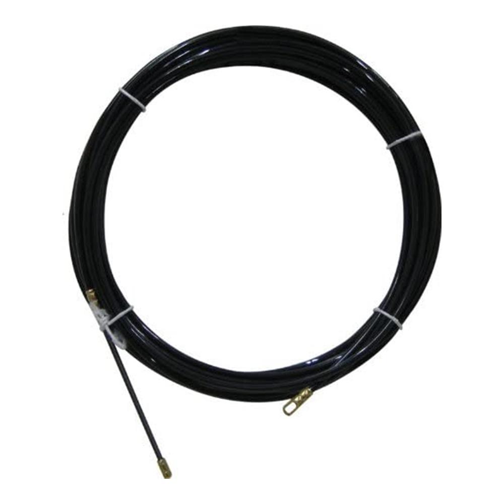 Sonda Tiracavi in Nylon 20 metri Diametro 4 mm Nera - KIT GIGRA LINE GL30920