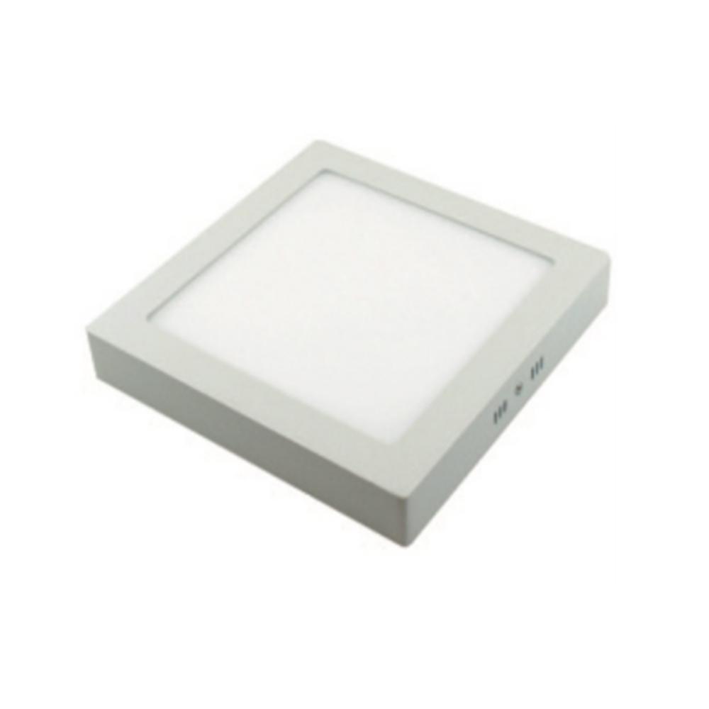 Plafoniera LED Quadrata Metallo 12W Bianco Naturale 4000K - GIGRA LINE PLMQ12/840