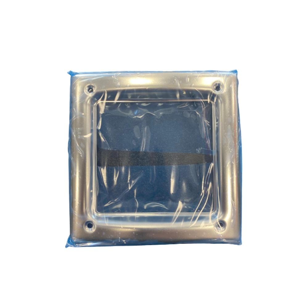 Cornice Acciaio Lucido 1 Modulo Urmet - URMET 1155/81