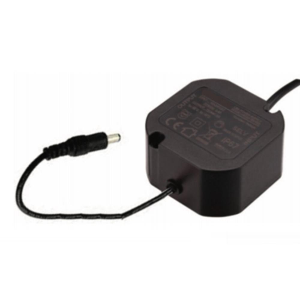 Alimentatore Micro Compatto 230V/12V 1,5A per Telecamere Videosorveglianza IP67 - GIGRA LINE YSC20-1201500
