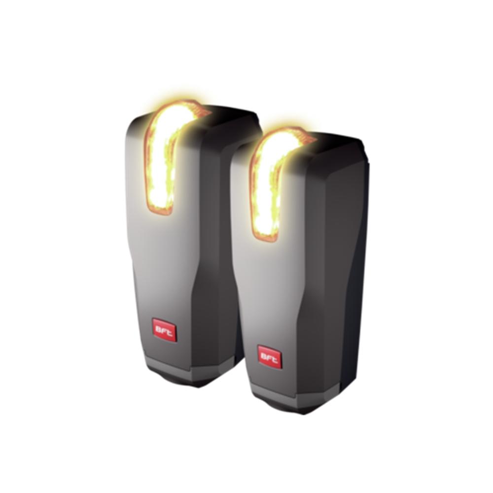 Coppia Fotocellule universali Bft orientabili con lampeggiante integrato - BFT P111714