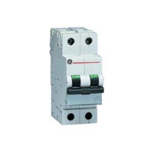 Interruttore magnetotermico 2 moduli 1P+N 32A Curva C 4500 General Electric 671856 - COD. HERD671856