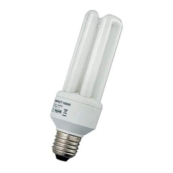 Lampadina Fluorescente Compatta E27 2700K 25W Bianco calda - BEGHELLI 50204
