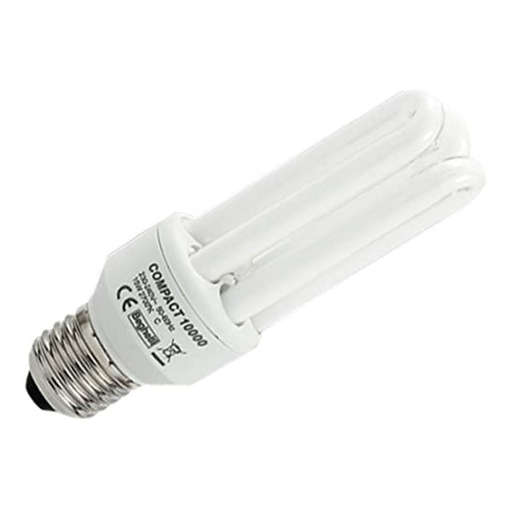Lampadina Fluorescente Compatta E27 2700K 30W Tubo T4 Bianco calda - BEGHELLI 50205