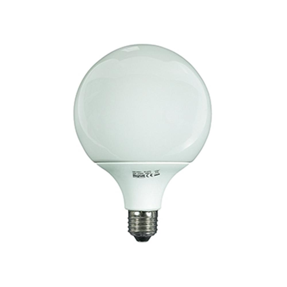 Lampada Fluorescente Compact Globo E27 6500K Luce Fredda - BEGHELLI 50226