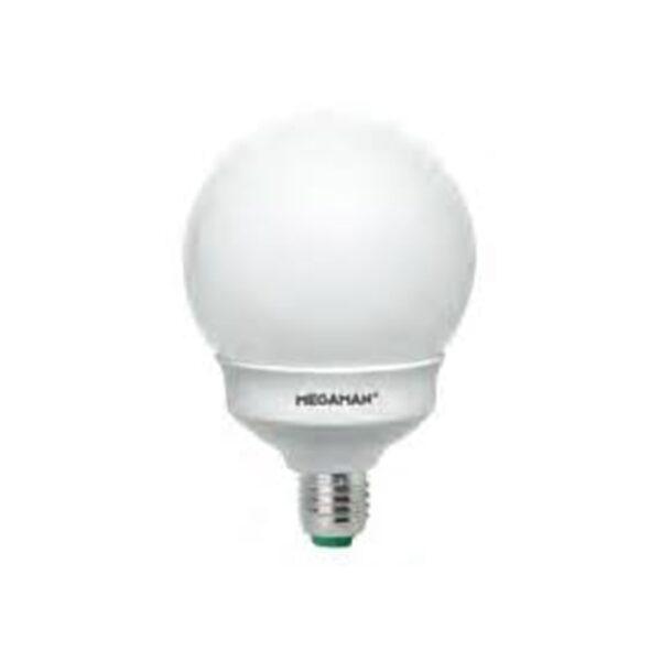 Lampadina Sfera E14 9W Risparmio Energetico - LA FILOMETALLICA MEGAMAN 020014