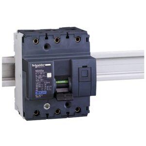 Interruttore Magnetotermico NG125A 3 Poli C 80A 16KA - MAZ 18603