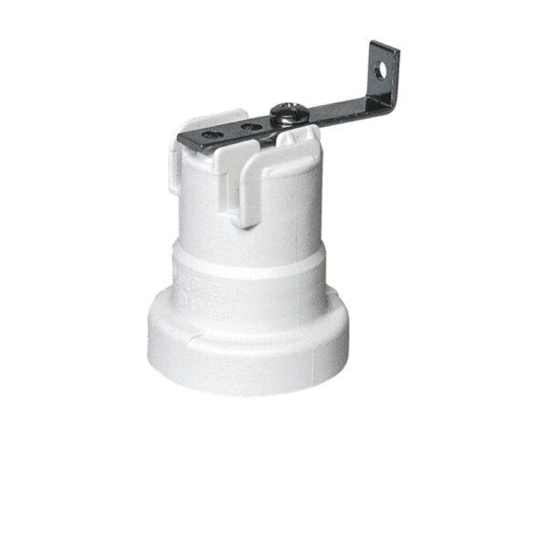 Portalampade E27 con Staffa Termoplastico - LAMPO SNC A7010/90