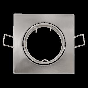 Faretto Orientabile da Incasso per lampade LED 12V Nero - LAMPO SNC DIKORSQ12/NE/SL