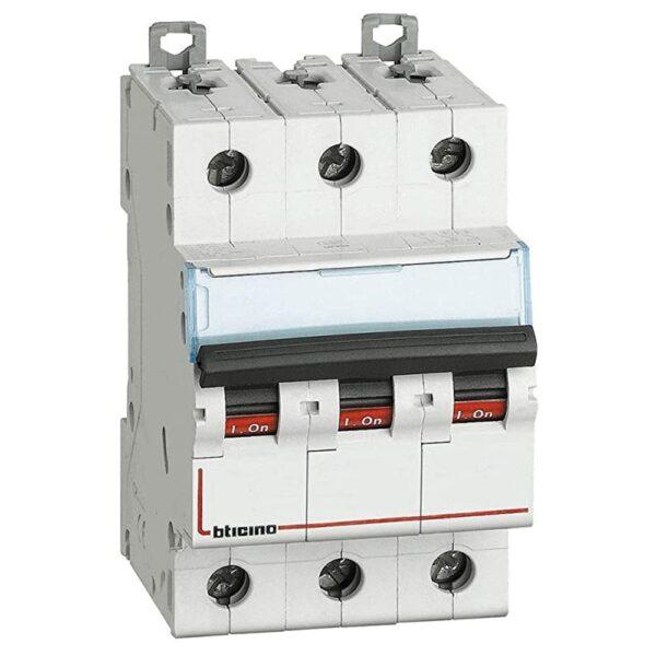 Interruttore Magnetotermico Automatico 3P 63A 4,5KA - BTICINO LEGRAND F83A/63