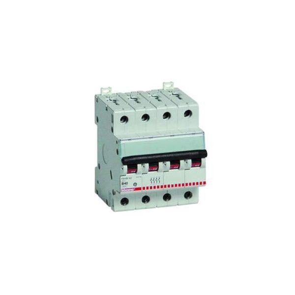 Interruttore Magnetotermico Quadripolare 40A 6KA - BTICINO LEGRAND F84/40
