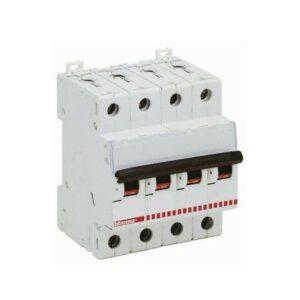 Interruttore automatico Magnetotermico 4P 20 A interruzione 10 kA - BTICINO LEGRAND F84H/20