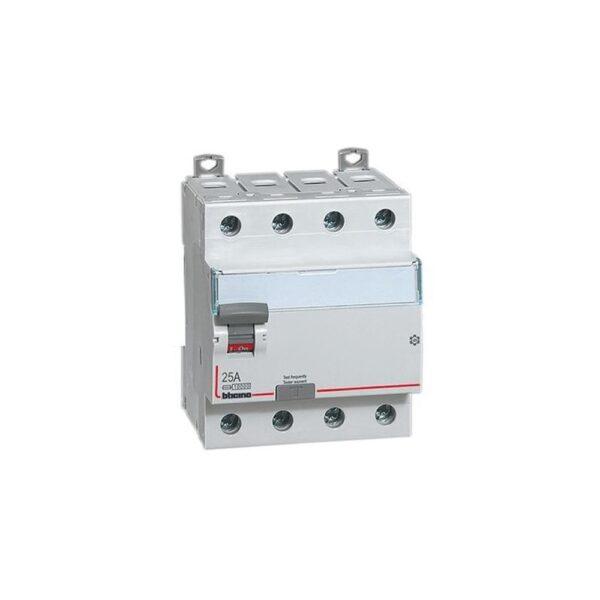 Differenziale Puro AC4P 25A 30MA - BTICINO LEGRAND G743N/25AC