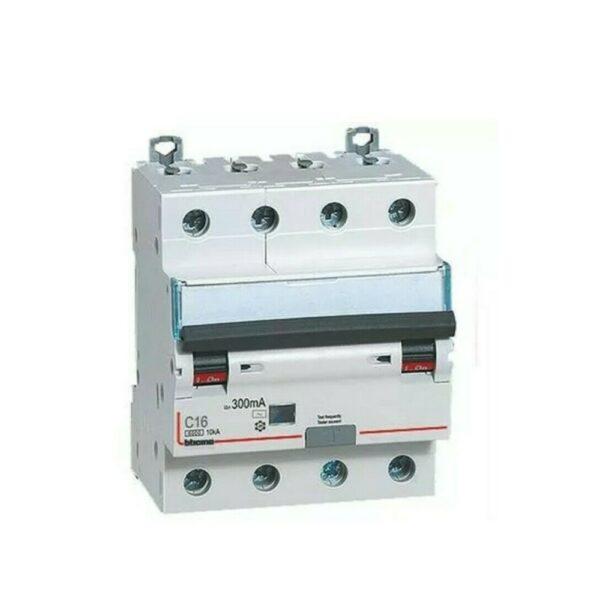 Interruttore Magnetotermico Differenziale AC 4 Poli 20A 6KA 30MA - BTICINO LEGRAND G8843/20AC