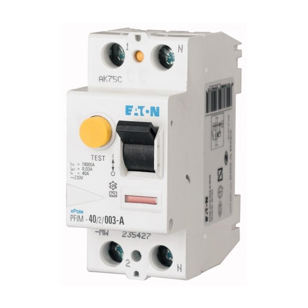 Interruttore Differenziale Modulare Puro 2x40A 0,03A - COD. HERD604006
