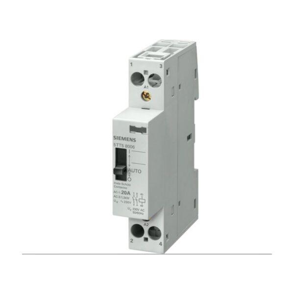Contattore 1NC 1NO 24V 20A - COD. HERD666127