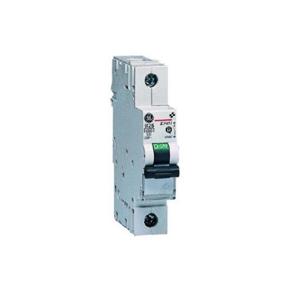 Interruttore Magnetotermico 1P 6A 1M 4500 - COD. HERD671881