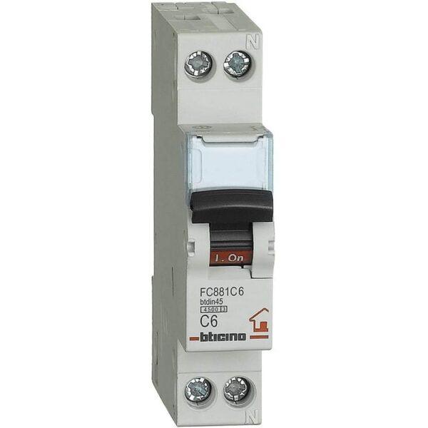 Interruttore Magnetotermico 1P 20A 1M 4500 EP451 - COD. HERD671886