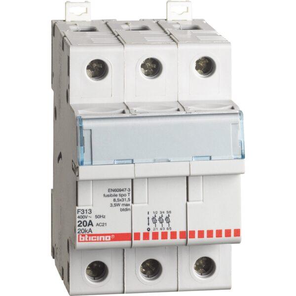Interruttore Magnetotermico 3 Poli C20 4500 - COD. HERD671934