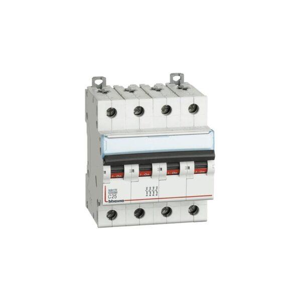 Interruttore Magnetotermico 4P C6 4M 4500 EP454 - COD. HERD671945