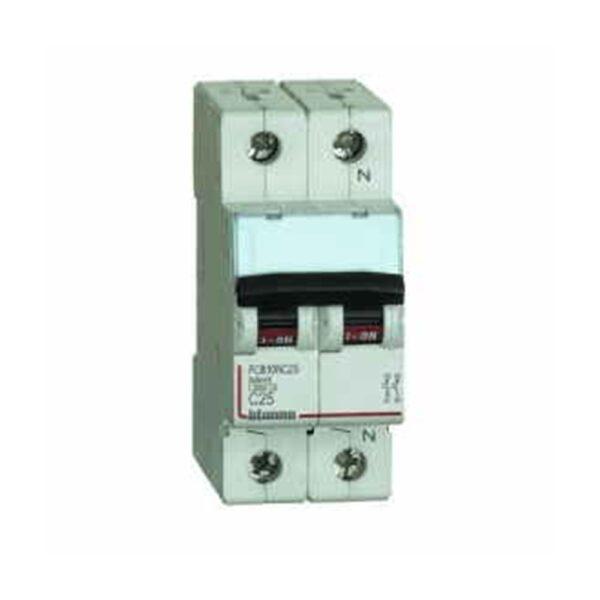 Interruttore Magnetotermico HOME 1 Polo+N C25 1M 4500 - COD. HERD691566