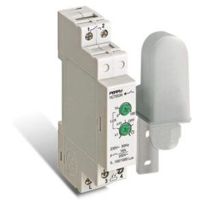 Interruttore crepuscolare 1 modulo 1NO 230V con sonda - PER 1IC7053N