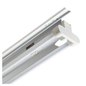 Plafoniera Rapid System T8 6401 FL 2x18 CN Bianco - DISANO ILLUMINAZIONE 23812400