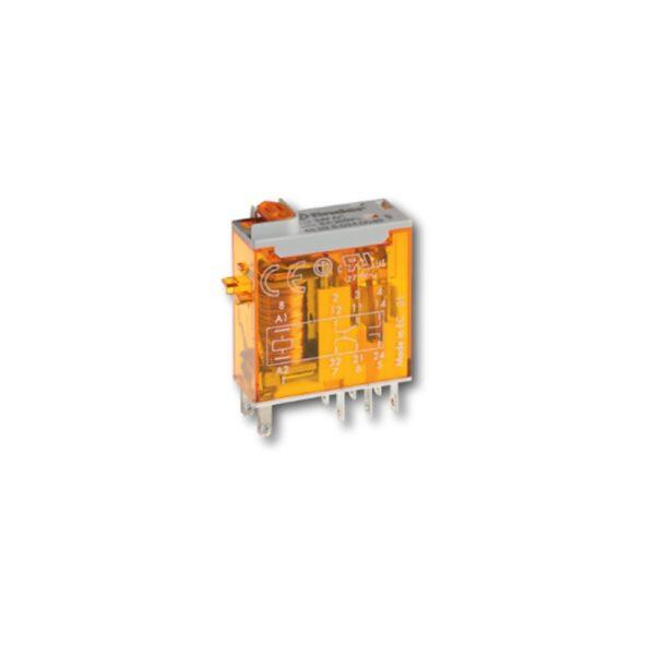Mini Relé Industriale 2 Contatti - FIN 465290240040