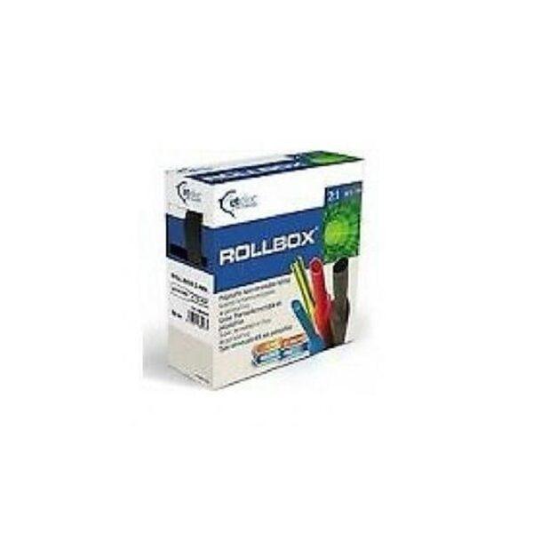 Rollbox 12.7/6,4-BK Dispenser Guaina Giallo - ETELEC ITALIA 12253127
