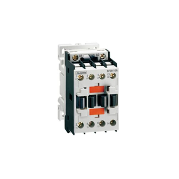 Contattore 3 Poli 3 Contatti 1 NO 12A AC3 - LOV BF1210A400