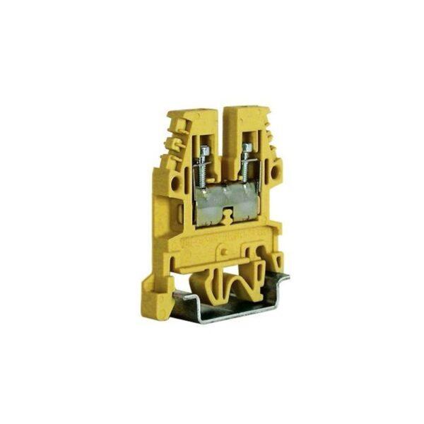 Morsetto Passante Standard 4mmq Beige - CABUR CB240/1