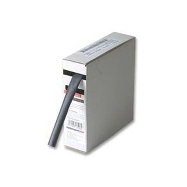 Guaina termorestringente nera diametro 3,2 mmq 10 metri con dispenser - COD. FG16172